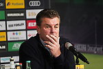 04.11.2018, Borussia Park , Moenchengladbach, GER, 1. FBL,  Borussia Moenchengladbach vs. Fortuna Duesseldorf,<br />  <br /> DFL regulations prohibit any use of photographs as image sequences and/or quasi-video<br /> <br /> im Bild / picture shows: <br /> Dieter Hecking Trainer/Headcoach (Gladbach), <br /> <br /> Foto &copy; nordphoto / Meuter