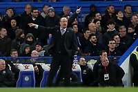 Newcastle Manager, Rafael Benitez during Chelsea vs Newcastle United, Premier League Football at Stamford Bridge on 12th January 2019