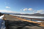 seen on visit to a walkway over the Ashokan Reservoir, on Thursday, February 23, 2017. Photo by Jim Peppler; Copyright Jim Peppler 2017