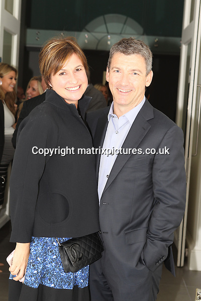 NON EXCLUSIVE PICTURE: TREVOR ADAMS / MATRIXPICTURES.CO.UK<br /> PLEASE CREDIT ALL USES<br /> <br /> WORLD RIGHTS<br /> <br /> English media presenter Emma Forbes and her husband, Graham Clempson attending the CANDY Magazine Autumn/Winter 2013 Launch Party, hosted by Nick Candy at the Saatchi Gallery in King's Road, London.<br /> <br /> OCTOBER 15th 2013<br /> <br /> REF: MTX 136759