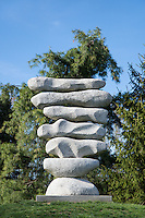 Contemporary sculpture, Grounds for Sculpture, Hamilton, New Jersey, USA