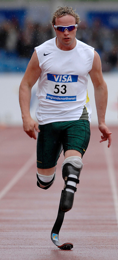 Photo: Richard Lane..VISA Paralympic World Cup 2007. Athletics. 13/05/2007. .