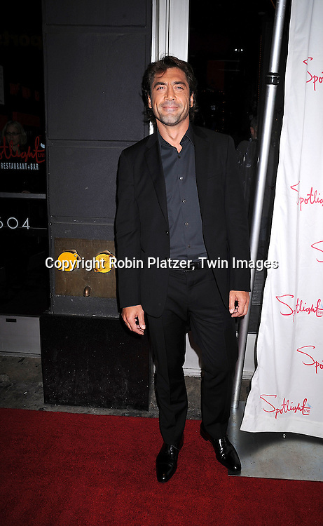 Javier Bardem.at The 2007 New York Film Critic's Circle Awards on .January 6, 2008 at Spotlight in New York. ..Robin Platzer, Twin Images