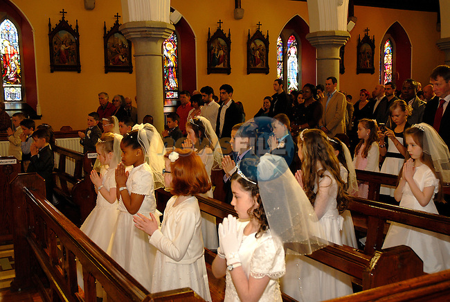 The First Holy Communion in Collon on Saturday.