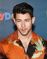"13 April 2019 - Beverly Hills, California - Nick Jonas. ""UglyDolls"" Los Angeles Photo Call held at The Four Seasons Hotel. Photo Credit: Billy Bennight/AdMedia"