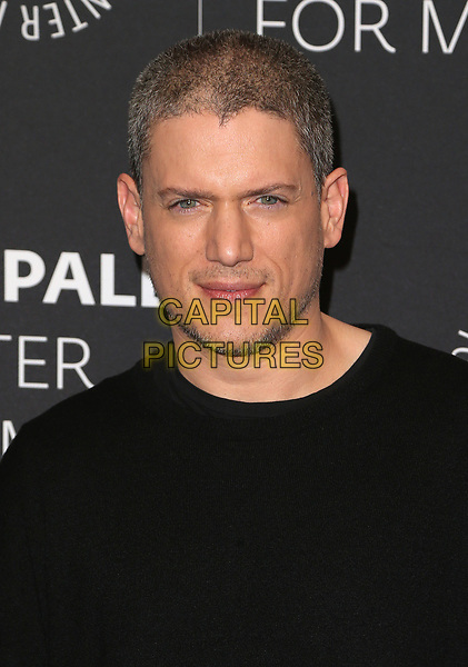 29 March 2017 - Beverly Hills, California - Wentworth Miller. 2017 PaleyLive LA Spring Season - &quot;Prison Break&quot; Screening And Conversation held at The Paley Center for Media.    <br /> CAP/ADM/FS<br /> &copy;FS/ADM/Capital Pictures