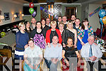 John Daly, Killarney (seated 2nd left) celebrated his 40th birthday last Saturday night in Gally's, Tralee along with many friends and family.