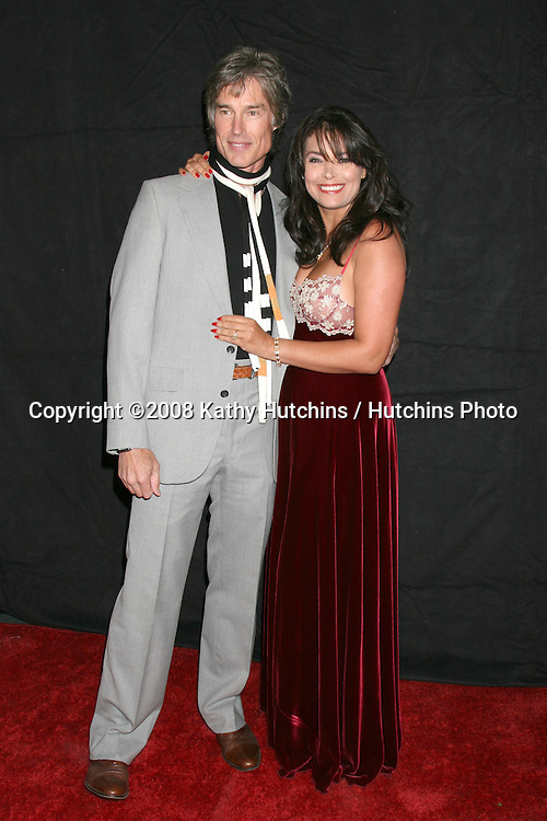 Ronn Moss  & Devin DeVasquez arriving at the Desi Geestman Foundataion Annual Evening with the Stars at the Universal Sheraton Hotel in Los Angeles, CA.October 11, 2008.©2008 Kathy Hutchins / Hutchins Photo...                .