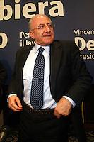 Vincenzo De Luca presidente della regione Campania è stato sospeso dal suo incarico per effetto legge severino