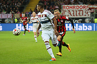 Sonny Kittel (Eintracht) gegen Jerome Boateng (Bayern) - Eintracht Frankfurt vs. FC Bayern München, Commerzbank Arena