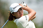 CHON BURI, THAILAND - FEBRUARY 18:  In Kyung Kim of South Korea tees off on the 3rd hole during day two of the LPGA Thailand at Siam Country Club on February 18, 2011 in Chon Buri, Thailand. Photo by Victor Fraile / The Power of Sport Images