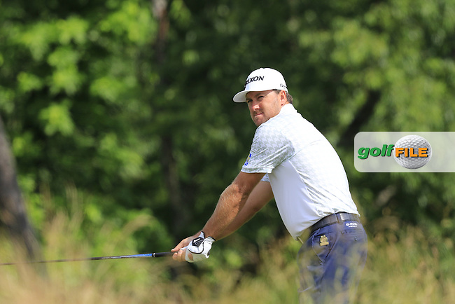 Graeme McDowell (NIR) on the 4th tee during Friday's Round 1 of the 2016 U.S. Open Championship held at Oakmont Country Club, Oakmont, Pittsburgh, Pennsylvania, United States of America. 17th June 2016.<br /> Picture: Eoin Clarke | Golffile<br /> <br /> <br /> All photos usage must carry mandatory copyright credit (&copy; Golffile | Eoin Clarke)