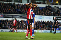 Tyler Walker of Lincoln City cannot believe he missed the target during Ipswich Town vs Lincoln City, Emirates FA Cup Football at Portman Road on 9th November 2019