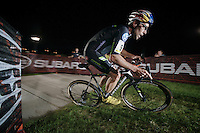 Tim Johnson (USA/Cannondale) coming through<br /> <br /> Cross Vegas 2014