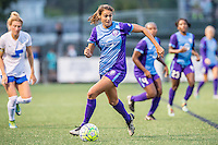Allston, MA - Sunday July 31, 2016: Christina Burkenroad during a regular season National Women's Soccer League (NWSL) match between the Boston Breakers and the Orlando Pride at Jordan Field.