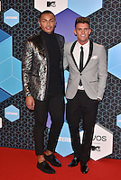 Gary, Nathan (Geordie Shore)<br /> 2016 MTV EMAs in Ahoy Arena, Rotterdam, The Netherlands on November 06, 2016.<br /> CAP/PL<br /> &copy;Phil Loftus/Capital Pictures /MediaPunch ***NORTH AND SOUTH AMERICAS ONLY***