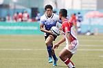 Kosuke Hashino (JPN), <br /> AUGUST 30, 2018 - Rugby : <br /> Men's Group B match <br /> between Japan 92-0 Idonesia <br /> at Gelora Bung Karno Rugby Field <br /> during the 2018 Jakarta Palembang Asian Games <br /> in Jakartan, Idonesia. <br /> (Photo by Naoki Morita/AFLO SPORT)
