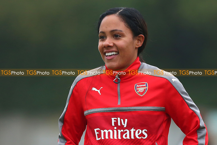 Alex Scott of Arsenal during Arsenal Ladies vs Doncaster Rovers Belles, FA Women's Super League FA WSL1 Football at Meadow Park on 30th October 2016