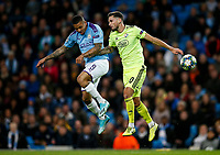 Gabriel Jesus of Manchester City and Petar Stojanovic of Dinamo Zagreb during the UEFA Champions League Group C match between Manchester City and Dinamo Zagreb at the Etihad Stadium on October 1st 2019 in Manchester, England. (Photo by Daniel Chesterton/phcimages.com)<br /> Foto PHC/Insidefoto <br /> ITALY ONLY