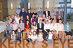 BABY JOY: Proud parents Chloe Mullins, Lixnaw and Keith Brosnan, Tralee (seated centre) of little Tiernan Keith who was Christening by Fr Mossie Brick at St Michael's Church, Lixnaw and celebrated afterwards with family and friends at the Ballyroe Heights hotel on Saturday.