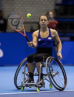 Rotterdam, Netherlands, December 14, 2016, Topsportcentrum, Lotto NK Tennis,  Wheelchair, Marjolijn Buis (NED) <br /> Photo: Tennisimages/Henk Koster