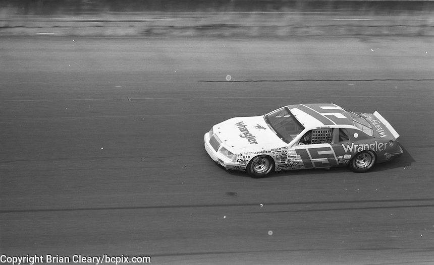 1983 Daytona 500 NASCAR race, Daytona International Speedway, Daytona Beach, FL, July 4, 1978.  (Photo by Brian Cleary/ www.bcpix.com )