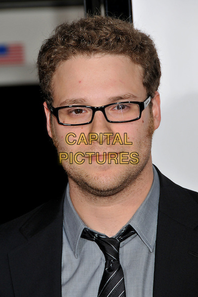"SETH ROGEN.""Zack and Miri Make a Porno"" Los Angeles Premiere at Grauman's Chinese Theatre, Hollywood, California , USA..October 20th, 2008.headshot portrait glasses stubble facial hair.CAP/ADM/BP.©Byron Purvis/AdMedia/Capital Pictures."