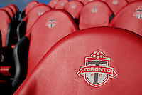 Toronto, ON, Canada - Friday Dec. 09, 2016: Toronto FC seats during training prior to MLS Cup at BMO Field.