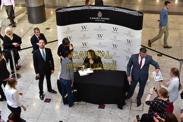 LONDON, ENGLAND - OCTOBER 20: Nigella Lawson book signing of  &quot;Simply Nigella: Feel Good Food&quot; at Waterstones Canary Wharf on October 20th, 2015 in London, England.<br /> CAP/JOR<br /> &copy;JOR/Capital Pictures