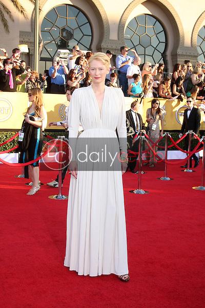 Tilda Swinton<br /> at the 18th Annual Screen Actors Guild Awards Arrivals, Shrine Auditorium, Los Angeles, CA 01-29-12<br /> David Edwards/DailyCeleb.com 818-249-4998