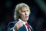 Nederland, Alkmaar, 20 oktober  2012.Eredivisie.Seizoen 2012-2013.AZ-N.E.C..Gertjan Verbeek, trainer-coach van AZ baalt