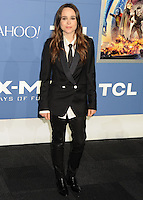 "NEW YORK CITY, NY, USA - MAY 10: Ellen Page at the World Premiere Of Twentieth Century Fox's ""X-Men: Days Of Future Past"" held at the Jacob Javits Center on May 10, 2014 in New York City, New York, United States. (Photo by Celebrity Monitor)"