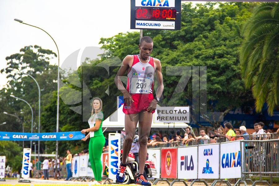 SAO PAULO, SP, 09.04.2016 -MARATONA-SP- Paul Koech Kimutai ,conquista o primeiro lugar nos 42 KM com o tempo de 02:17:56 durante a 23ª edição da Maratona Internacional de São Paulo, realizado na cidade de São Paulo, SP, neste domingo (09). (Foto: Danilo Fernandes/Brazil Photo Press)