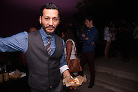 Cas Anvar attends Original Penguin 60th Anniversary Party on August 17, 2015 (Photo by Alexander Plank/Guest of a Guest)