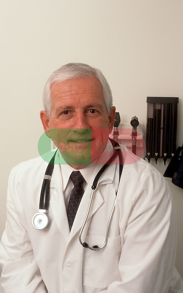 Portrait of medical professional in examination room