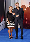 HOLLYWOOD, CA - MAY 25:  Actor Kellan Lutz (R) and his mother Karia Lutz arrive at the premiere of Warner Bros. Pictures' 'Wonder Woman' at the Pantages Theatre on May 25, 2017 in Hollywood, California.