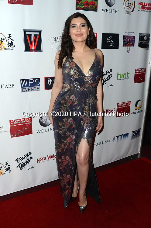 LOS ANGELES - FEB 9:  Celeste Thorson at the 5th Annual Roger Neal & Maryanne Lai Oscar Viewing Dinner at the Hollywood Museum on February 9, 2020 in Los Angeles, CA