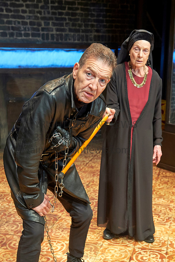 Richard III by William Shakespeare, directed by Mehmet Ergen. With Annie Firbank as Duchess of York, Greg Hicks as Richard, .Opens at The Arcola Theatre on 15/5/17.