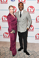 Joanne Clifton &amp; Ore Oduba at the TV Choice Awards 2017 at The Dorchester Hotel, London, UK. <br /> 04 September  2017<br /> Picture: Steve Vas/Featureflash/SilverHub 0208 004 5359 sales@silverhubmedia.com