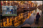 Netherlands, Leiden.  <br /> Step back and be the unobtrusive photographer.