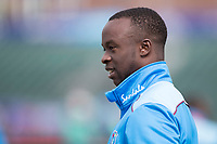 Kemar Roach (West Indies) during West Indies vs New Zealand, ICC World Cup Warm-Up Match Cricket at the Bristol County Ground on 28th May 2019