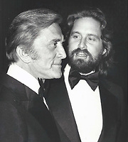 Michael and Kirk Douglas 1977 <br /> Credit:  John Barrett/PHOTOlink/MediaPunch