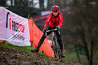 Picture by Alex Whitehead/SWpix.com - 02/02/2018 - Cycling - 2018 UCI Cyclo-Cross World Championships - Valkenburg, The Netherlands - Great Britain's Anna Kay in action during a practice session.