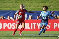 Piscataway, NJ - Saturday June 3, 2017: Amandine Henry, Raquel Rodriguez during a regular season National Women's Soccer League (NWSL) match between Sky Blue FC and the Portland Thorns at Yurcak Field.  Portland defeated Sky Blue, 2-0.