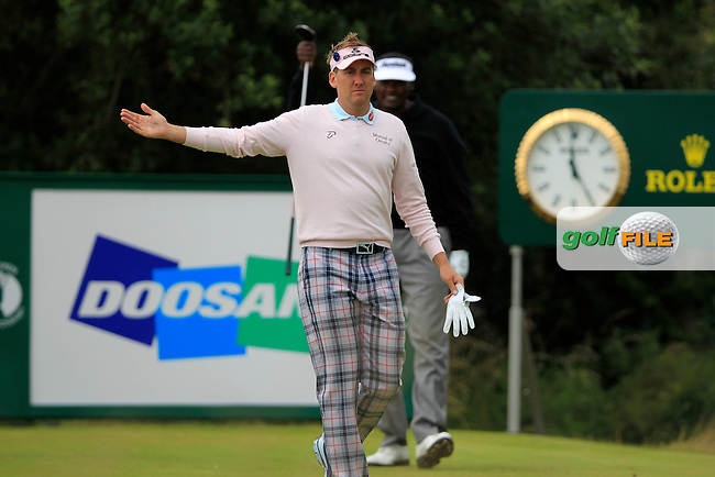 Ian Poulter (ENG) walks off the 13th tee during Friday's Round 2 of the 141st Open Championship at Royal Lytham & St.Annes, England 20th July 2012 (Photo Eoin Clarke/www.golffile.ie)