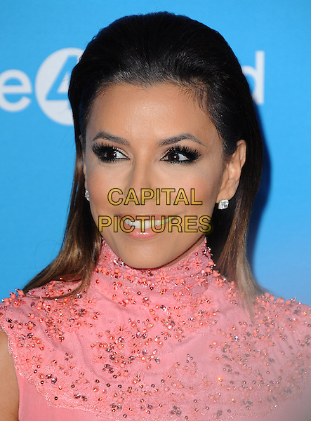 LOS ANGELES, CA - FEBRUARY 27 - Eva Longoria attends unite4:good and Variety presentation &quot;unite4:humanity&quot; Celebrating Good, Giving and Greatness Around the Globe held at Sony Picture Studios in Culver City, California on February 27,2014                                                                              <br /> CAP/DVS<br /> &copy;DVS/Capital Pictures