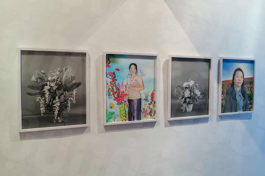 August 30, 2017 - Phnom Penh (Cambodia). View of same of the art pieces exhibited at SaSaBassac Gallery in Phnom Penh. © Thomas Cristofoletti / Ruom
