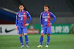 (L to R) <br /> Yuhei Tokunaga, <br /> Yuichi Komano (FC Tokyo), <br /> FEBRUARY 9, 2016 - Football / Soccer : <br /> AFC Champions League 2016 Play-off <br /> between FC Tokyo 9-0 Chonburi FC <br /> at Tokyo Stadium, Tokyo, Japan. <br /> (Photo by YUTAKA/AFLO SPORT)
