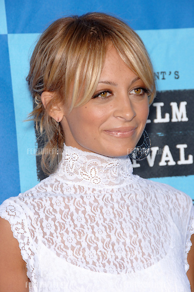 "Actress NICOLE RICHIE at the Los Angeles Film Festival premiere of ""The Devil Wears Prada""..June 22, 2006  Los Angeles, CA.© 2006 Paul Smith / Featureflash"
