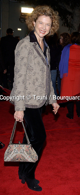 "Annette Bening arriving at the "" The Last Samurai Premiere "" at the Westwood Village in Los Angeles. December 1, 2003."